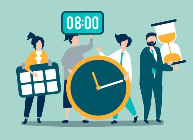 تاثیر مدیریت زمان در موفق شدن