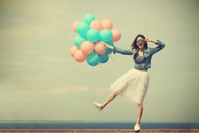 فایده شاد بودن در زندگی