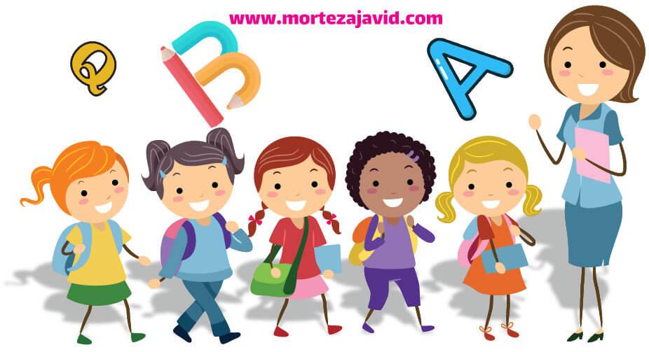 10 بازی برای آموزش زبان انگلیسی به کودکان