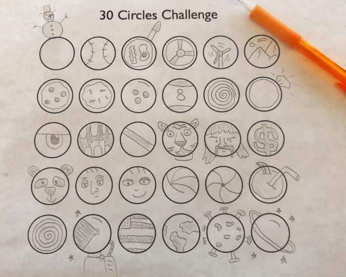 30 دایره تقویت خلاقیت